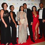 Little Mix, Leigh-Anne Pinnock and guests Arrivers at the Nailing Mental Health: Valentine's Ball The Hurlingham Club, Ranelagh Gardens on 14 Feb 2018, London, United Kingdom