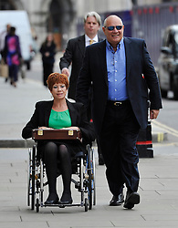 © Licensed to London News Pictures. 27/06/2013. London, UK. EDDIE SHAH arriving at the Old Bailey in London with his wife JENNIFER WHITE SHAH where he is standing trial for the rape of a schoolgirl. Photo credit : Mark Hemsworth/LNP