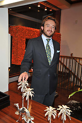 ALEX MAVROS at a reception in aid of Save The Elephants held at Patrick Mavros, 104-106 Fulham Road, Lodon SW3 on 23rd September 2009.