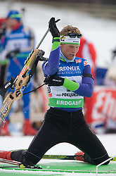 Klemen Bauer of Slovenia at Men 20 km Individual of e.on Ruhrgas IBU World Cup Biathlon Pokljuka, on December 17, 2009, in Pokljuka, Slovenia. (Photo by Vid Ponikvar / Sportida)