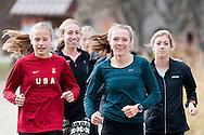 Anna Gibson, Jackson Hole. Nike Cross Regionals Northwest, November 12, 2016 at Eagle Island State Park, Eagle, Idaho.