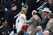 Ivanka Trump and husband Jared Kushner are congratulated by Congressmen Louie Gohmert following the 68th Inaugural ceremony January 20, 2017 in Washington, DC. Donald Trump became the 45th President  of the United States of America.