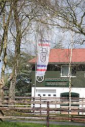Gestütsportrait Hengststation Hell Herbert Ulonska und Calido<br /> Klein Offenseth - Hengststation Stall Hell<br /> © www.sportfotos-lafrentz.de / Stefan Lafrentz