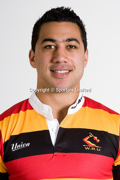 Ben Castle, Chiefs squad 2008 season, headshot portrait, Rebel Sport Super 14, Rugby Union, Waikato Stadium, Hamilton, Waikato, New Zealand, Credit: Sportpix - David Wheadon