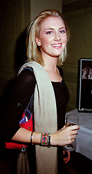 LADY EMILY COMPTON daughter of the Marquess of Northampton, at a party in London on 11th October 2000.OHU 47