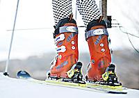 High School alpine ski race at Gunstock February 3, 2012.