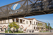 Fullerton Community College Pedestrian Bridge