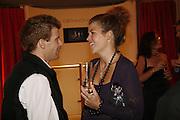 TOM AIKENS AND AMBER NUTTALL, Maria Grachvogel 5th Anniversary of her  Sloane St store. 162 Sloane St. London. 19 October 2006. -DO NOT ARCHIVE-© Copyright Photograph by Dafydd Jones 66 Stockwell Park Rd. London SW9 0DA Tel 020 7733 0108 www.dafjones.com