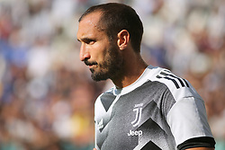 August 19, 2017 - Turin, Piedmont, Italy - Giorgio Chiellini (Juventus FC) before the Serie A football match between Juventus FC and Cagliari Calcio at Allianz Stadium on august 19, 2017 in Turin, Italy. (Credit Image: © Massimiliano Ferraro/NurPhoto via ZUMA Press)
