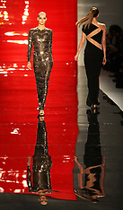 Reem Acra show at New York Fashion Week A/W 2012