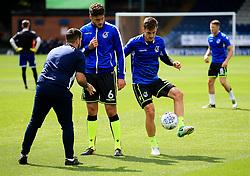 Tom Lockyer of Bristol Rovers warms up - Mandatory by-line: Matt McNulty/JMP - 19/08/2017 - FOOTBALL - Gigg Lane - Bury, England - Bury v Bristol Rovers - Sky Bet League One