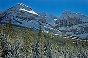 Winter in the Canadian Rockies<br /> Kootenay National Park<br /> British Columbia<br /> Canada