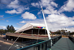 Adelaide Festival Bridge and Festival Center, Adelaide, South Australia, Australia