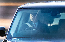 © Licensed to London News Pictures. 02/12/2019. Windsor, UK.  Prince Andrew is seen at Windsor. Later the BBC Panorama will screen an hour long interview with Virginia Giuffre who alledges she was made to sleep with Prince Andrew when she was 17. Photo credit: Peter Macdiarmid/LNP