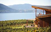 Patio with a view. Deep Roots Winery, Naramata BC