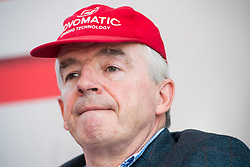 28.03.2018, Haas Haus, Wien, AUT, Laudamotion, Pressegespräch mit Niki Lauda, im Bild Vorsitzender Ryanair Michael O'Leary // CEO of Ryanair Michael O'Leary during media conference of Laudamotion in Vienna, Austria on 2018/03/28. EXPA Pictures © 2018, PhotoCredit: EXPA/ Michael Gruber