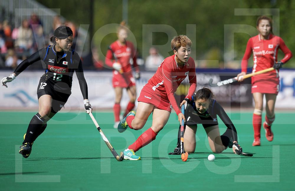 ROTTERDAM - Hock World League Semi Final Women<br /> Japan v Korea<br /> foto: Korea KIM Jong Hee<br /> FFU PRESS AGENCY COPYRIGHT FRANK UIJLENBROEK
