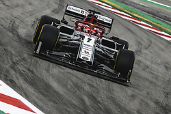 May 11, 2019 - Barcelona, Catalonia, Spain - KIMI RAIKKONEN (FIN) from team Alfa Romeo drives during the third practice session of the Spanish GP at Circuit de Catalunya (Credit Image: © Matthias Oesterle/ZUMA Wire)