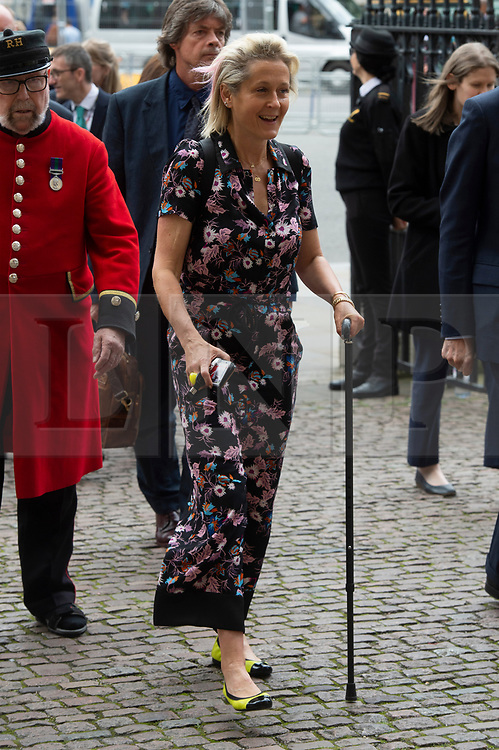© Licensed to London News Pictures. 20/06/2019. London, UK. Dame Martha Lane Fox attends a Service of Thanksgiving for Lord Haywood at Westminster Abbey. Jeremy Heywood served as Cabinet Secretary from 2012 and Head of the Home Civil Service until shortly before his death in 2018. Photo credit: Ray Tang/LNP