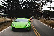 August 22-26, 2018. Monterey Car week. Lamborghini Huracan