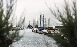 THEMENBILD - Boote liegen im Hafen vor Anker. Lignano ist ein beliebter Badeort an der italienischen Adria-Küste, aufgenommen am 15. Juni 2019, Lignano, Italien // Boats are anchored in the harbour. Lignano is a popular seaside resort on the Italian Adriatic coast on 2019/06/15, Lignano Sabbiadoro, Italy. EXPA Pictures © 2019, PhotoCredit: EXPA/ Stefanie Oberhauser