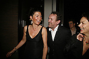 Eve Best and Kevin Spacey, First night  for 'A Moon For the Misbegotten' at the Old Vic.  Party at Trafalgar. London. 27 September 2006. -DO NOT ARCHIVE-© Copyright Photograph by Dafydd Jones 66 Stockwell Park Rd. London SW9 0DA Tel 020 7733 0108 www.dafjones.com