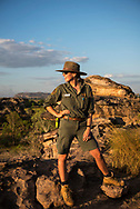 Phoebe Reeve, at work for Parks Australia at Kakadu National Park in Australia's Northern Territory.