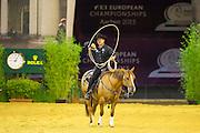 Leo Holcknecht - BH Cocky is Dun<br /> FEI European Championships Aachen 2015<br /> © DigiShots