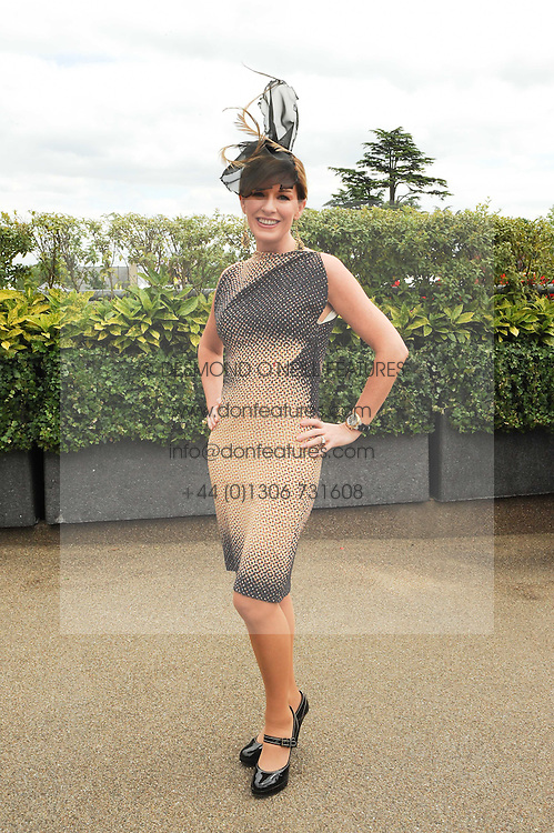 ANDREA CATHERWOOD at the first day of the 2010 Royal Ascot Racing festival at Ascot Racecourse, Berkshire on 15th June 2010.