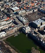 Nederland, Zuid-Holland, Den Haag, 20-03-2009; Hofvijver met het Plein, Mauritshuis.luchtfoto (toeslag), aerial photo (additional fee required)foto/photo Siebe Swart