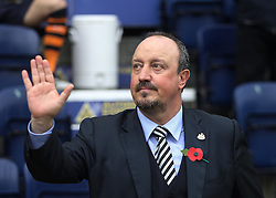 Newcastle United manager Rafa Benitez - Mandatory by-line: Jack Phillips/JMP - 29/10/2016 - FOOTBALL - Deepdale - Preston, England - Preston North End v Newcastle United - EFL Championship