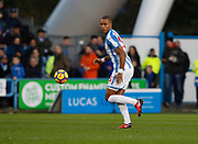 Huddersfield Town's Mathias Zanka Jørgensen during the Premier League match between Huddersfield Town and West Bromwich Albion at the John Smiths Stadium, Huddersfield, England on 4 November 2017. Photo by Paul Thompson.