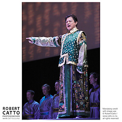 Tan Dun's opera Tea: A Mirror Of Soul  is performed with the New Zealand Symphony Orchestra at the Michael Fowler Centre, Wellington.