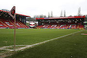 The Valley prior to kick off during the Sky Bet Championship match between Charlton Athletic and Cardiff City at The Valley, London, England on 13 February 2016. Photo by Matthew Redman.