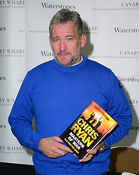 Chris Ryan Book Signing. <br /> Former SAS man, turned bestselling author, signs copies of his latest novel Masters of War, set in war-torn Syria, Waterstones, London, United Kingdom, Friday, 30th August 2013. Picture by Nils Jorgensen / i-Images