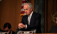 Senator Bob Corker, Chairman of the  Senate Foreign Relations Committee  at a hearing of the Senate Foreogn Relations Committe on January 11, 2017<br /> <br /> Photo by Dennis Brack
