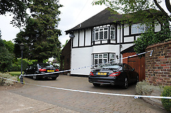 © Licensed to London News Pictures. 09/06/2014. An elderly couple were attacked and tied up at their home in Petts Wood before burglars ransacked the property. Bromley police said an aggravated burglary took place at around 5am this morning (June 9) at a house in Chislehurst Road. A male victim, 69, was punched in the face a number of times as he opened his front door before he and his wife, 67, were tied up and assaulted. Byline:Grant Falvey/LNP