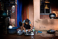 Once a sleepy fishing village called Harmal, Arambol Beach has become the newest hippie haven for Goa's freaks, but the locals still continue to do their daily chores and have somehow addepted to this big change.<br /> ©Ingetje Tadros