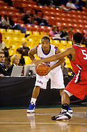 November 27, 2008: Louisiana Tech guard Jamel Guyton (3) in the opening round of the 2008 Great Alaska Shootout at the Sullivan Arena.