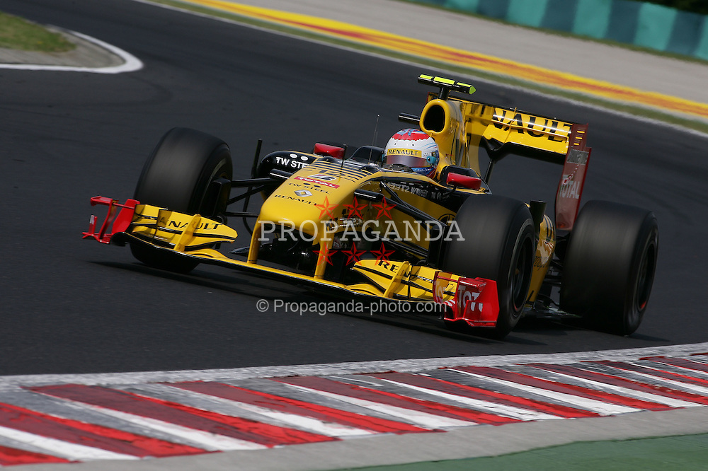 Motorsports / Formula 1: World Championship 2010, GP of Hungary, 12 Vitaly Petrov (RUS, Renault F1 Team),