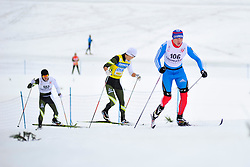 SPITCYN Filipp Guide: BASIUK Zhorzh, RUS, CHOI Bogue Guide: SEO Jeongryun, KOR at the 2014 IPC Nordic Skiing World Cup Finals - Middle Distance