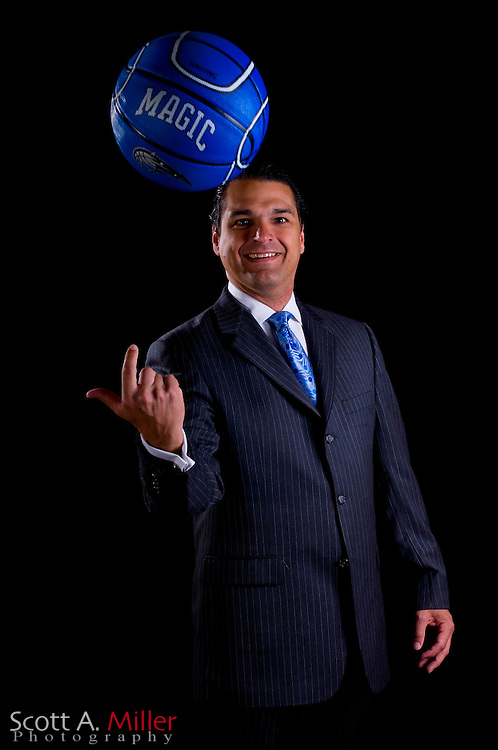 May 14, 2008; Orlando, FL, USA; Orlando Magic's Alex Martins for the Fifty most Powerful people for Orlando Magazine...Photo By Scott A. Miller.