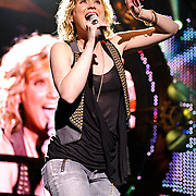 Columbia, MD. - May 16, 2010:  Grammy award winning country music duo Sugarland perform at Merriweather Post Pavilion as part of their 2010 tour, dubbed The Incredible Machine Tour. (Photo by Kyle Gustafson/For The Washington Post)
