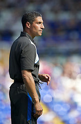 BIRMINGHAM, ENGLAND - Saturday, July 30, 2011: Birmingham City's new manager Chris Hughton during a preseason friendly match against Everton at St Andrews. (Photo by David Rawcliffe/Propaganda)