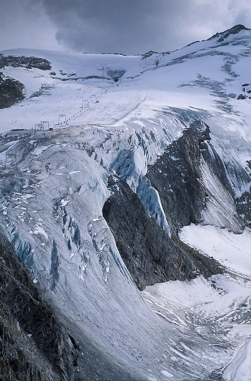 Rettenbach Joch, Glacier, Oetztal, Tirol, Austria
