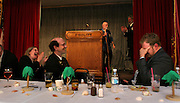 Rep. Jefferson Smith laughs with the exalted ruler and his wife during a dinner/speaking engagement at an Elks Club in Portland as a member has just told a joke up on stage. He vaulted to prominence by founding The Bus Project, which mobilized young people to get involved in politics. The charismatic leader often has been touted as a future politician, even a future governor, and now he is starting up the political ladder, serving his first term in the Legislature, as a Democratic House member from outer SE Portland....