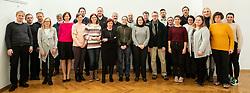 Team of Druzina, on January 6, 2020 in Ljubljana, Slovenia. Photo by Vid Ponikvar/ Sportida