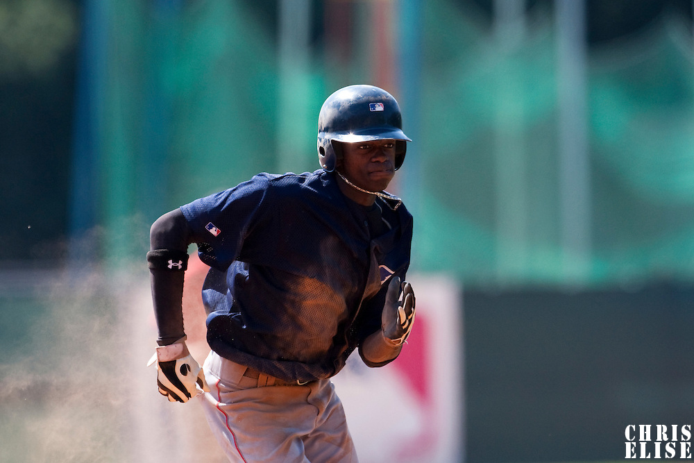 Baseball - MLB European Academy - Tirrenia (Italy) - 21/08/2009 - Raoell Kortstam (Netherlands)