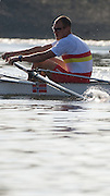 Putney/Hammersmith,  Great Britain; Tideway Scullers',  Great Eight,  Olaf TUFTE,  Pre boat race  fixture against Cambridge University, on the River Thames raced from Putney Pier to Hammersmith Bridge on Wed. 18.03.2009 [Mandatory Credit. Peter Spurrier/Intersport Images]