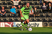 Forest Green Rovers Jon Parkin during the Pre-Season Friendly match between Forest Green Rovers and Cardiff City at the New Lawn, Forest Green, United Kingdom on 15 July 2015. Photo by Shane Healey.